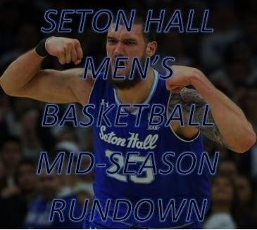 Seton Hall men's basketball is in contention for an NCAA Tournament at-large bid and a high finish in the Big East, but there's still plenty of work to do.