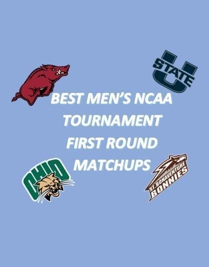 With the NCAA Tournament right around the corner, these are the five best matchup of the first round that we're pretty sure you won't want to miss.