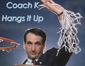Coach K Retires