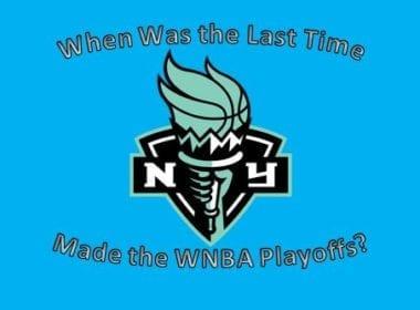 New York Liberty last time WNBA Playoffs 2017